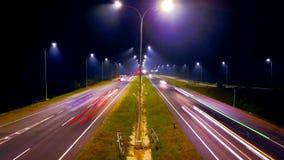 Flash run. Highway at cipali royalty free stock image