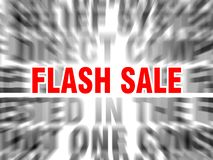 flash sale royalty free illustration
