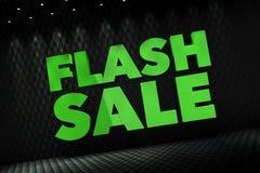 Flash Sale 3D Concept royalty free illustration