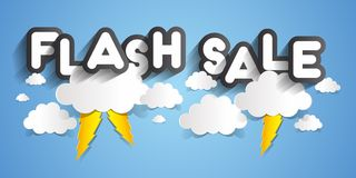 Flash Sale Stock Photo