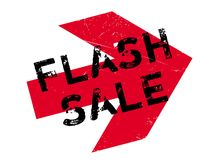 Flash Sale rubber stamp Royalty Free Stock Photos