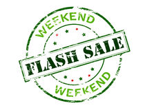 Flash sale Royalty Free Stock Photos