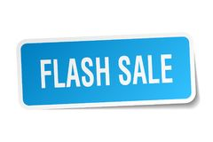 flash sale sticker vector illustration