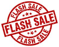 flash sale stamp royalty free illustration