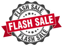 Flash sale stamp. Sign. seal Stock Photography