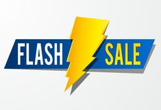 Flash Sale Stock Image