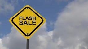 Flash sale stock footage