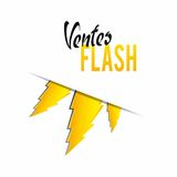 Flash sales Royalty Free Stock Photos