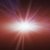 Flash Star Space Horizon Royalty Free Stock Image