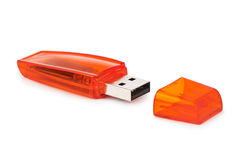 Flash usb memory drive Stock Photos