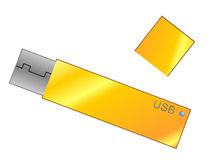 Flash usb Stock Photo