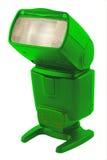 Flash verde Immagine Stock Libera da Diritti