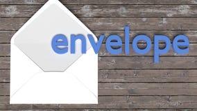 Flashcard pour des enfants - un mot simple avec un objet correspondant à aider l'étude et en se rappelant des mots de base illustration stock
