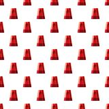 Flasher pattern. Seamless repeat in cartoon style vector illustration Royalty Free Stock Photo