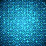 Flashes azuis brilhantes Imagens de Stock Royalty Free