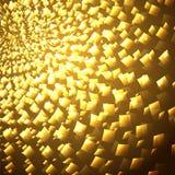 Flashes lumineux jaunes Photographie stock libre de droits