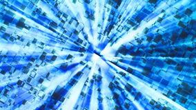 Flashing blue abstract background Stock Photos