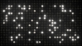 Flashing disco wall white and black background Royalty Free Stock Image