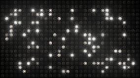 Flashing disco wall white and black background Royalty Free Stock Image