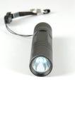 Flashing light. Led flashing light on white background Stock Photography
