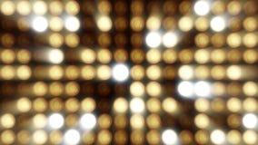 Flashing Lights Bulb Spotlight Flood lights Vj Led Wall Stage Led Display Blinking Lights Motion Graphics Background