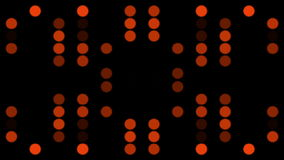 Flashing red circles stock video