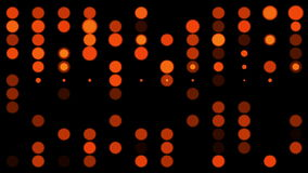 Flashing red circles stock footage