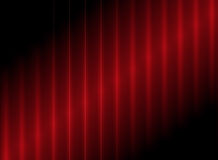 Flashing red stripes background Stock Images