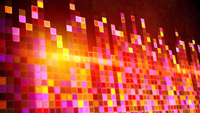 Flashing squares equalizer Royalty Free Stock Image
