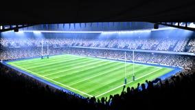 Flashing stadium lights during game