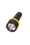 Flashlight. Includes clipping path, isolated on white background Stock Image