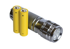 Flashlight. Royalty Free Stock Photography