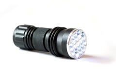Flashlight. On the white background Stock Photos
