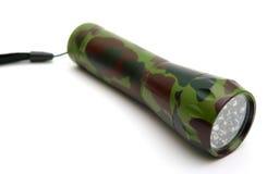 Flashlight. Led flashlight isolated on white Stock Image