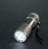 Flashlight. Led tourch light Stock Image