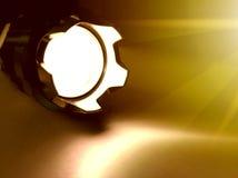 Flashlight background Royalty Free Stock Images