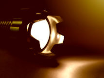Flashlight background Royalty Free Stock Photography