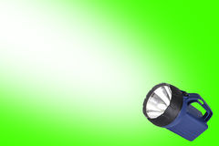 Flashlight with Beam - Room for Text Stock Images