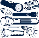 Flashlight Collection Royalty Free Stock Image