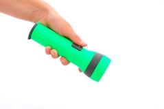 flashlight hand стоковая фотография rf