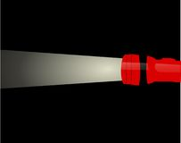Flashlight Illustration. Illustration of flaslight available as jpeg or vector stock illustration