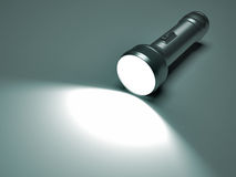 Flashlight spot Royalty Free Stock Photos