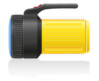 Flashlight vector illustration Stock Images
