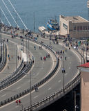 Flashmob I love Vladivostok. Stock Photography