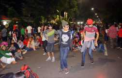Flashmob Royalty Free Stock Images