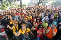 Flashmob Royalty Free Stock Photo