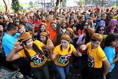 Flashmob Royalty Free Stock Photography