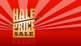 Flashy auction event design suggesting massive discount sale