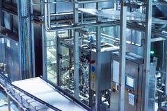 Flaskölproduktion Arkivfoto