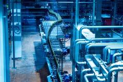 Flaskölproduktion Royaltyfri Bild